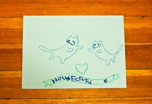 Simone and Rainer's Flying Housecats