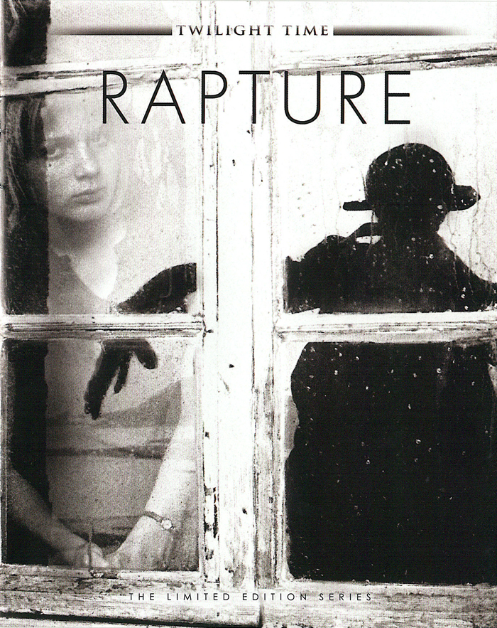 The booklet that accompanies the Rapture blu-ray