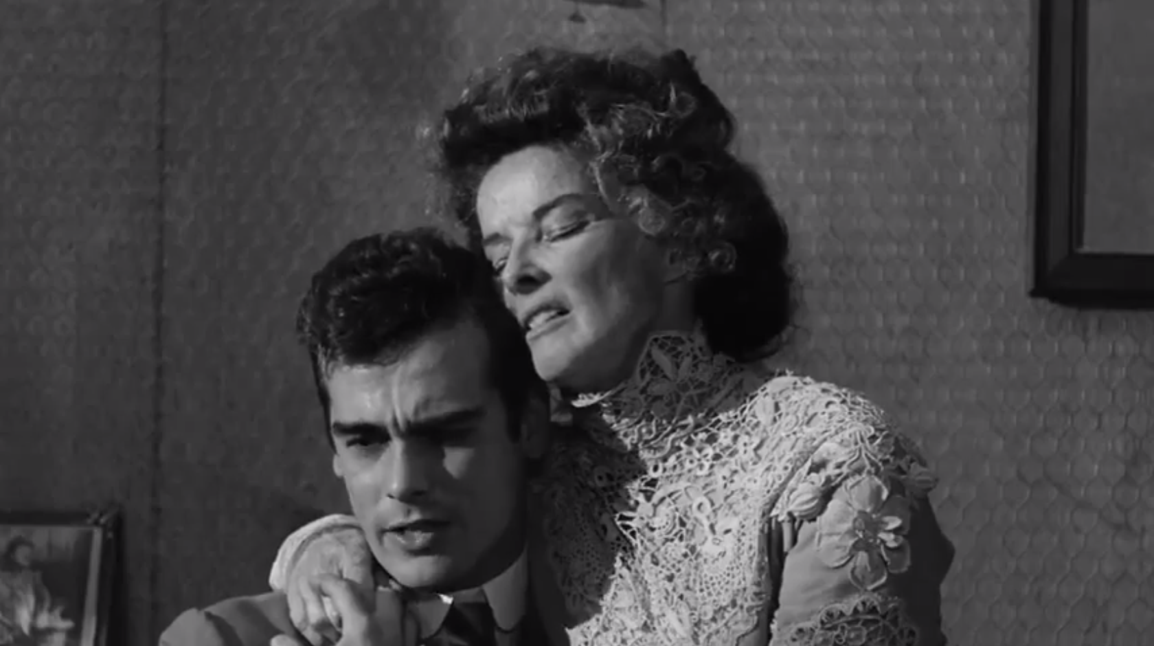 Dean Stockwell and Katherine Hepburn in Long Day's Journey Into Night (1962)
