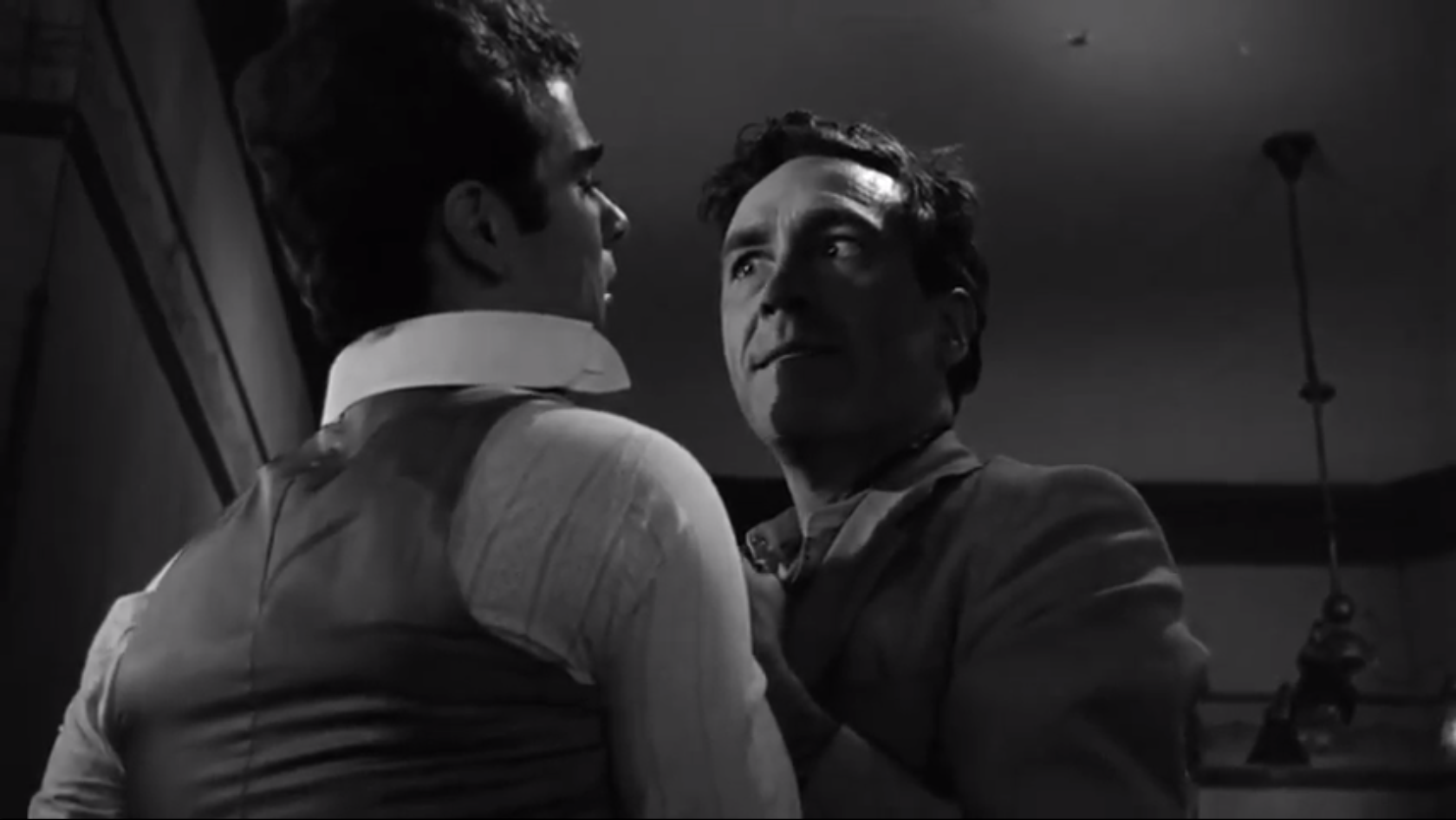 Dean Stockwell as Edmund and Jason Robards, brilliant, as Jamie in Long Day's Journey Into Night (1962)